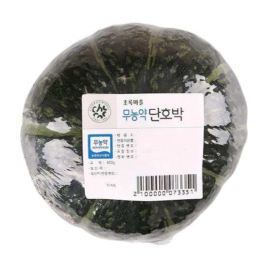 무농약이상_단호박 (600g)