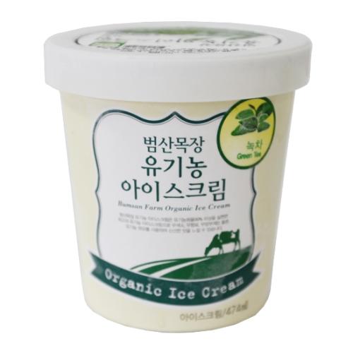 유기농녹차아이스크림(474mL)