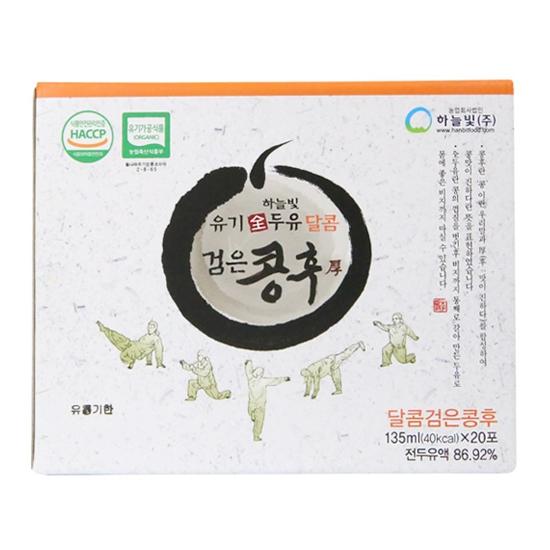 유기하늘빛전두유검은콩후(달콤135mL×20포)