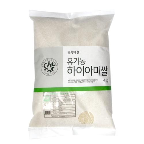 유기농하이아미쌀(4kg)