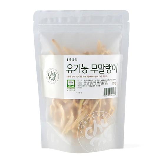 유기농무말랭이 (70g)