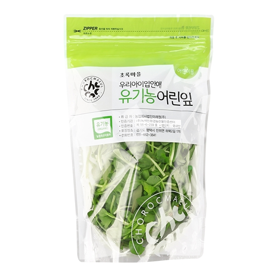 우리아이입안애유기농어린잎(어린이용/80g)