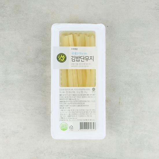 국내산무로만든김밥단무지(350g)