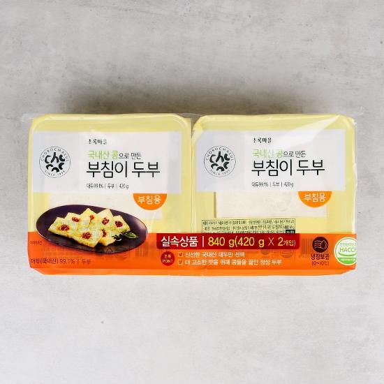 [기획]부침이두부(420g×2입)