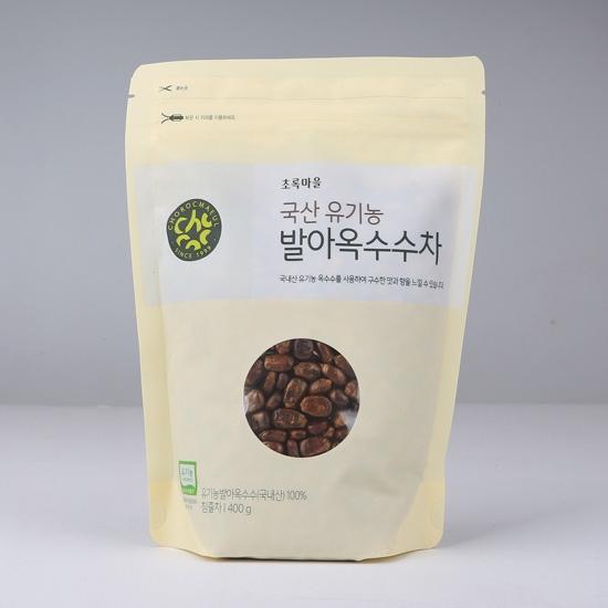 국산유기농발아옥수수차(400g)