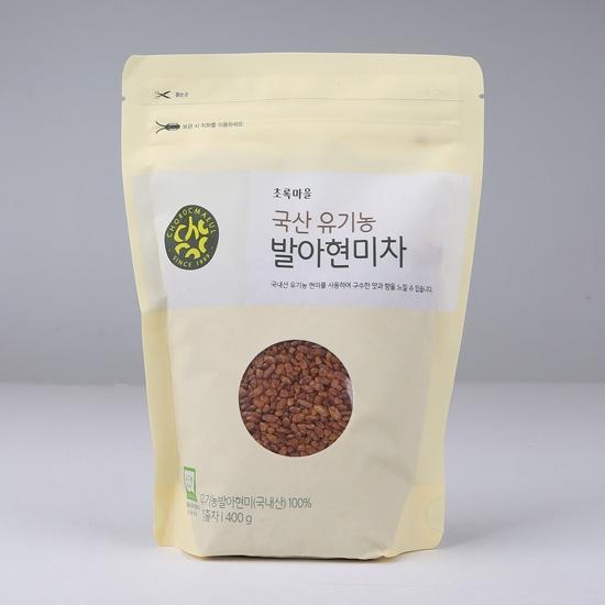 국산유기농발아현미차(400g)