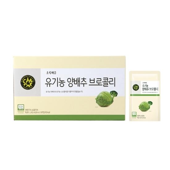 유기농양배추브로콜리(80mL×30입)