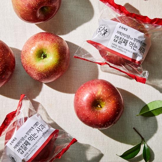 정직선별껍질째먹는사과(2.5kg/박스)
