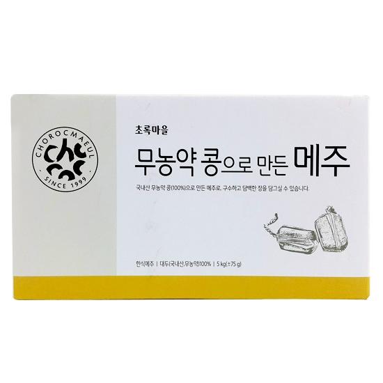 무농약콩으로만든메주 5kg(±75g)