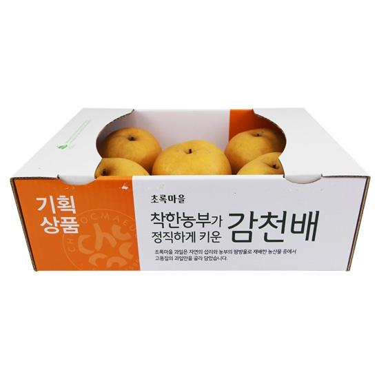 [기획]착한농부감천배(3kg)