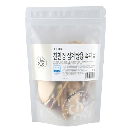 친환경삼계탕용속재료 (70g)