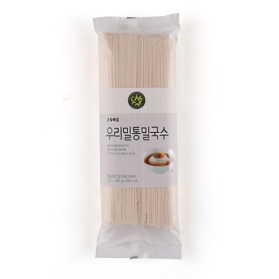 우리밀통밀국수(400g)