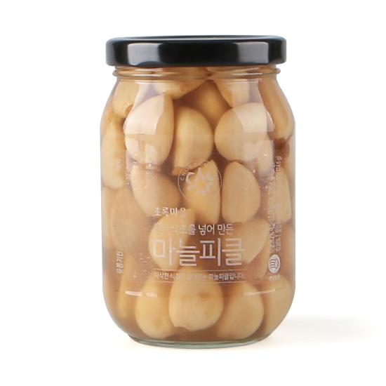 사과식초를넣어만든마늘피클(300g)