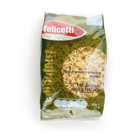 펠리체티 유기농 동물모양 파스타(500g)