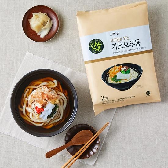우리밀로만든가쓰오우동(531g)