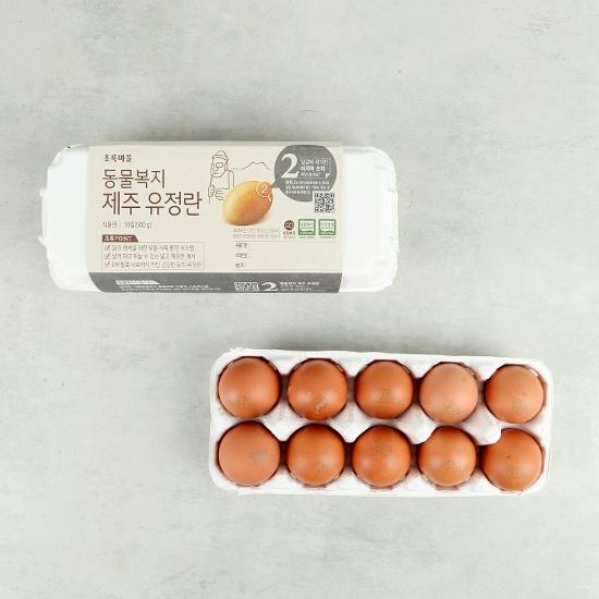 동물복지제주유정란(10입)