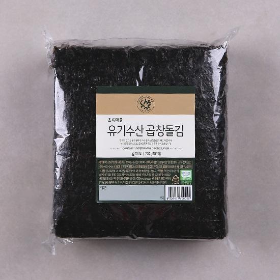 유기수산곱창돌김(220g/100매)
