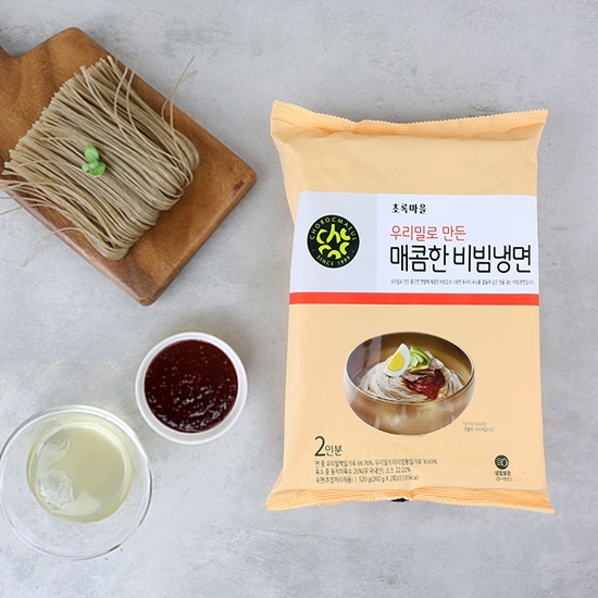우리밀로만든매콤한비빔냉면(260g×2)