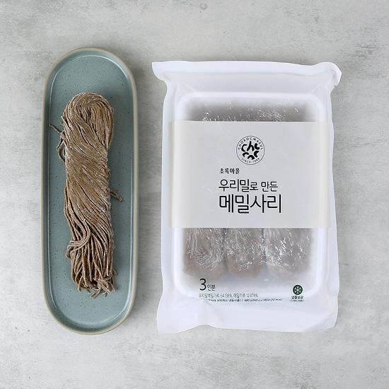 우리밀로만든메밀사리(160g×3)