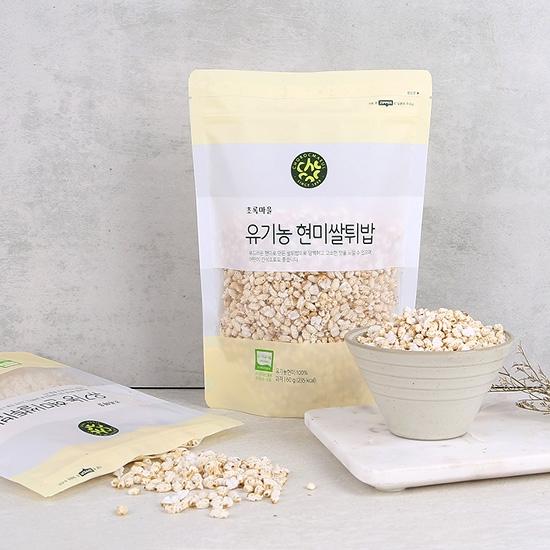 유기농현미쌀튀밥(60g)