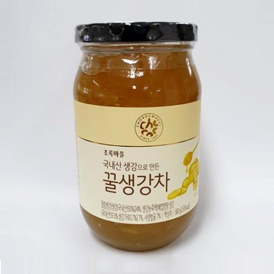 국내산생강으로만든꿀생강차(580g)