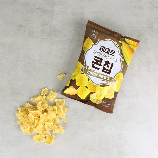 제대로잘익은국산옥수수콘칩(60g)