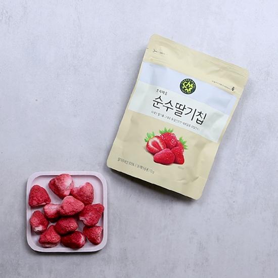 순수딸기칩(13g)