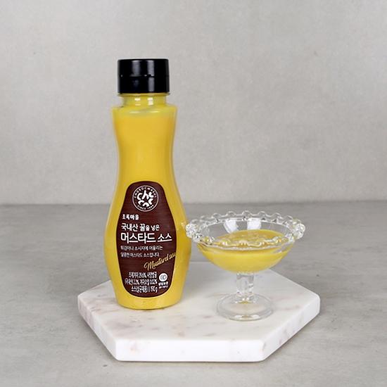국내산꿀을넣은머스타드소스(190g)