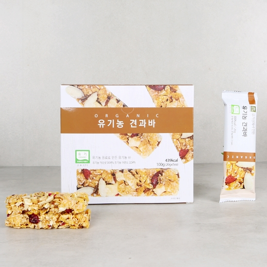 유기농견과바(20g×5입)