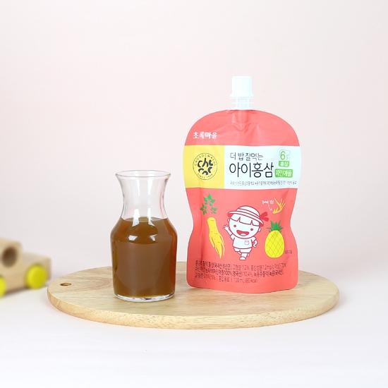 더밥잘먹는아이홍삼(파인애플/100mL×10개입)