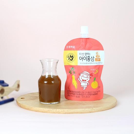 더밥잘먹는아이홍삼(오렌지/100mL×10개입)