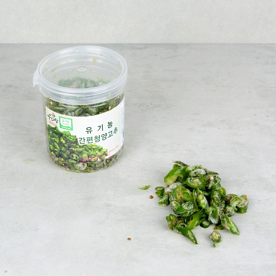 유기농간편청양고추 (120g)