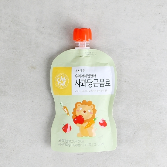 우리아이입안애사과당근음료(100mL×10개입)