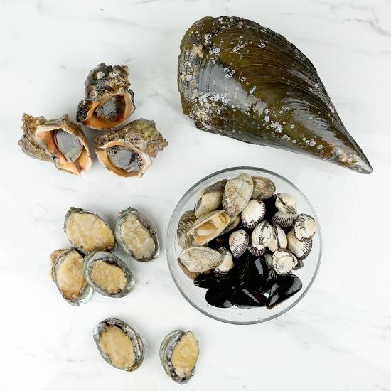 국산 모듬조개(탕,구이용)