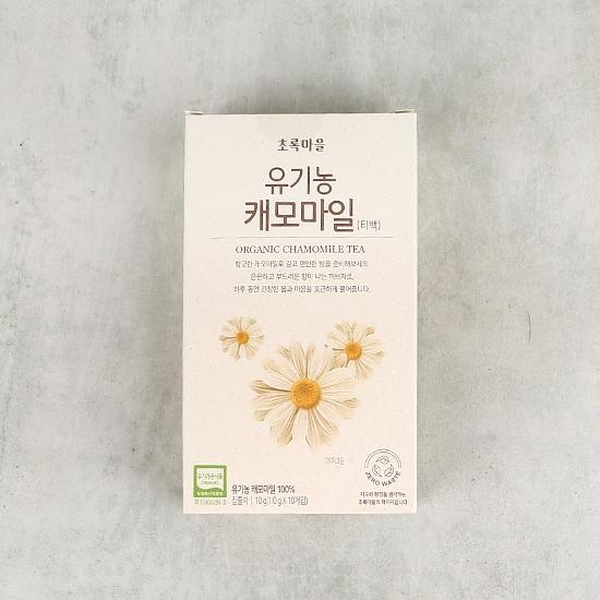 유기농캐모마일(티백)(10g/1g×10개입)