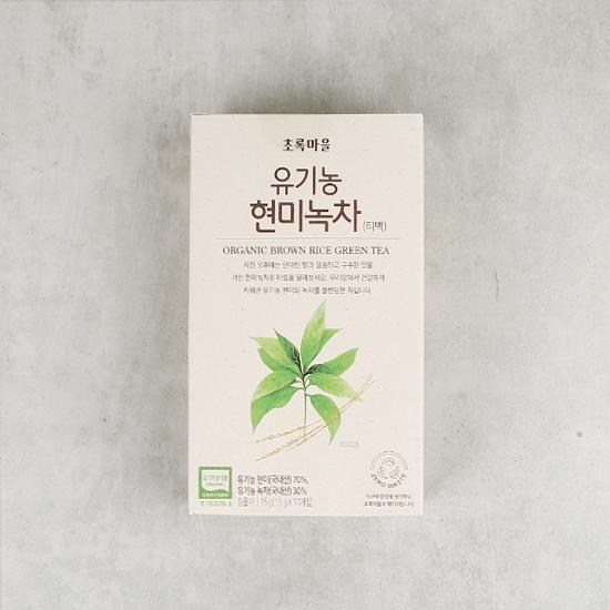 유기농현미녹차(티백)(15g/1.5g×10개입)