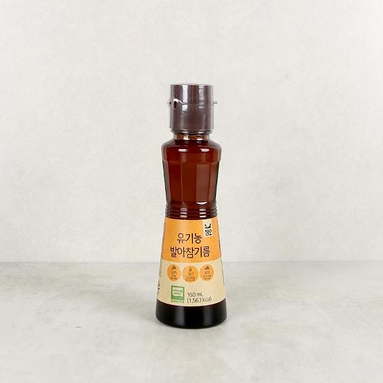 유기농발아참기름(160mL)