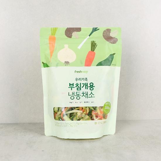 우리가족 부침개용 냉동채소(300g)