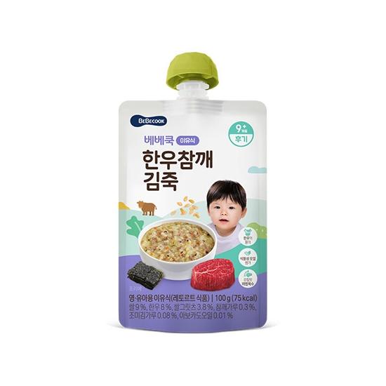 한우참깨김죽(후기/100g)