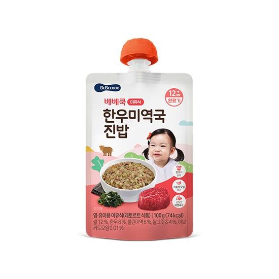 한우미역국진밥(완료기/100g)