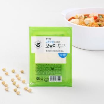 무농약콩으로만든보글이두부(275g)