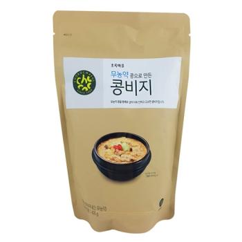 무농약콩으로만든콩비지(400g)