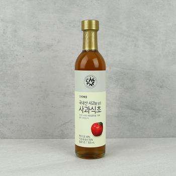 국내산사과를담은사과식초(300mL)