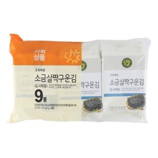 [기획]소금살짝구운김(도시락김/3g×9봉)