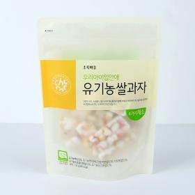 우리아이입안애유기농쌀과자(4가지채소/50g)