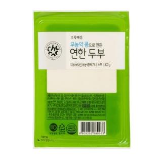 무농약콩으로만든연한두부(300g)
