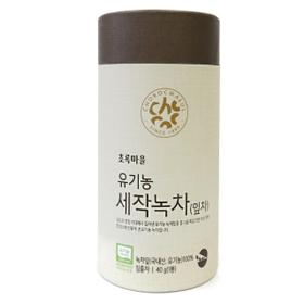 유기농세작녹차(40g/잎차)