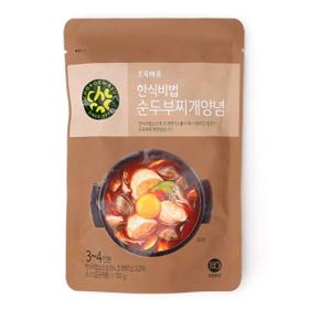 한식비법순두부찌개양념(150g)