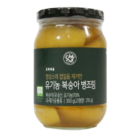 유기농복숭아병조림(300g)