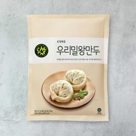 우리밀왕만두(500g)